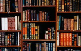 legal books on bookshelf